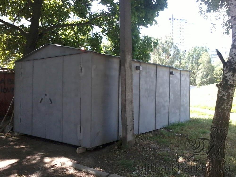 Установить металлический гараж у дома во дворе купить гараж саратове волжский район
