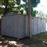 Металлический гараж в Харькове