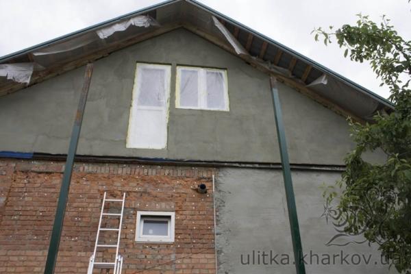Дом до лестницы