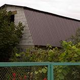 Мансардная крыша для дачного домика