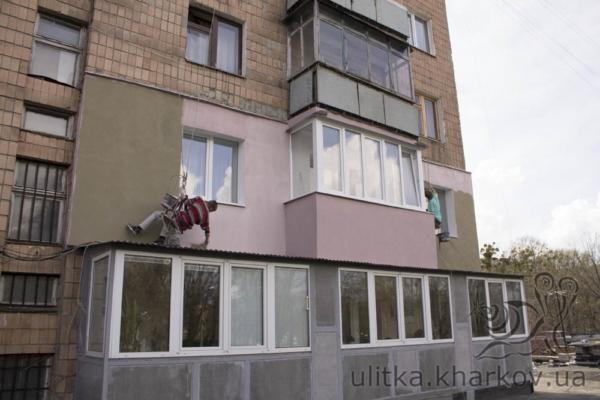 Покраска фасад краской «Ceresit»