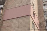Утеплення пінопластом торцевої стіни будинку