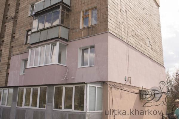 Утепление многоэтажки в Харькове