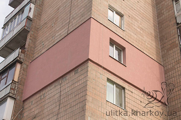 Утепление стен дома снаружи по системе «Ceresit»