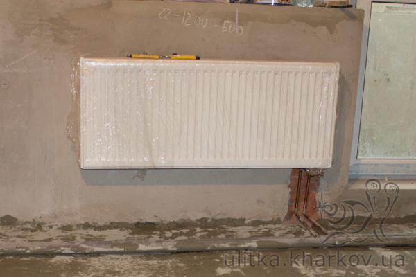 Сталевий радіатор опалення